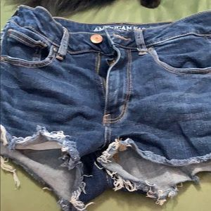 American Eagle jean shorts size 6